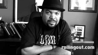 "Ice cube calls p-diddy a ""circus ring master""!! lol"