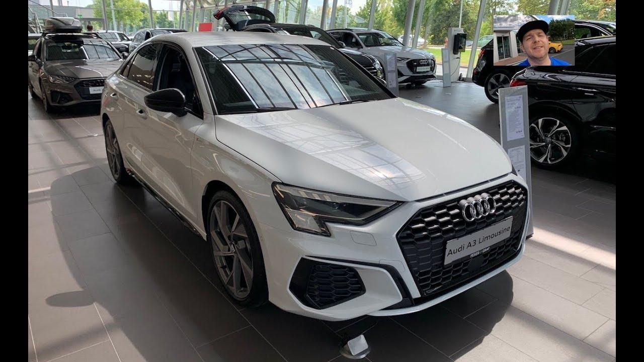 Audi A3 Saloon S Line 2021 Ibis White ~ wow