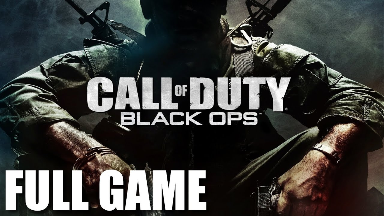Call of Duty: Black Ops - Full Game Walkthrough (No Commentary Longplay) -  YouTube