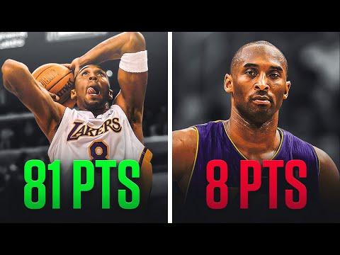 Kobe Bryant's BEST Game & His WORST Game