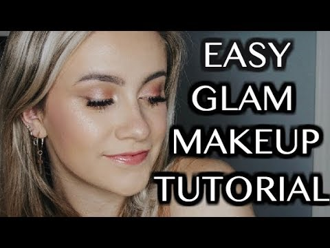 MY GO TO MAKEUP FOR GOING OUT || EASY GLAM MAKEUP TUTORIAL thumbnail