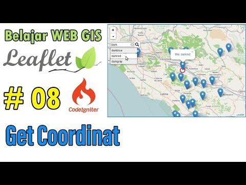 08 Web GIS Dengan Leaflet - Get Coordinat Location