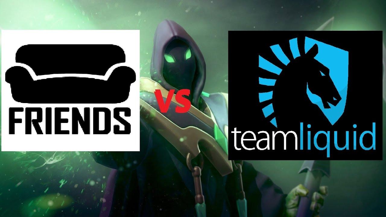 team liquid vs friends the summit 5 game 1 dota 2 english