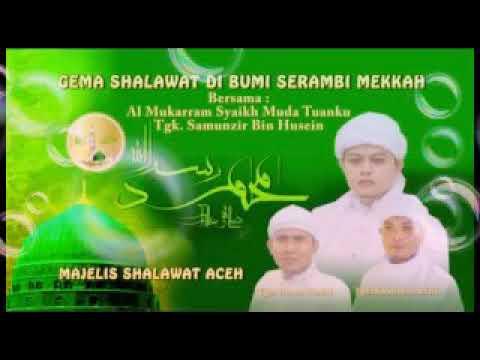Syeikh samunzir ...  Majelis zikrullah Aceh!