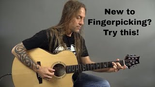 New to Fingerpicking - Try this Pattern | Steve Stine Guitar...