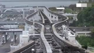 How the track get change of maglev train in japan