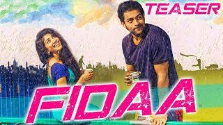 "Checkout official teaser of our upcoming movie ""fidaa"". it is a hindi dubbed version ""telugu"" film directed by shekhar kammula. the features varun te..."