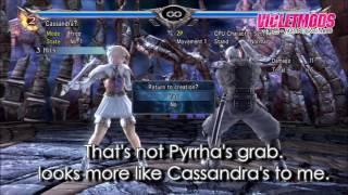 Creating Cassandra with Hacks | Soulcalibur V