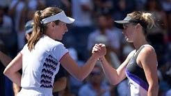 Elina Svitolina vs Johanna Konta   US Open 2019 Quarter-Final Highlights