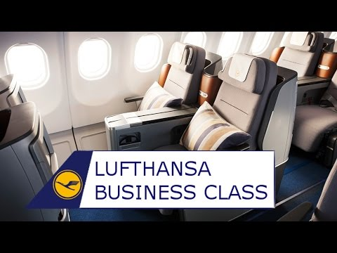 BUSINESS CLASS on Lufthansa  A340-600 | MUC-Shanghai