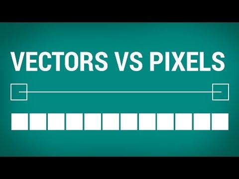 Graphic Design Tutorial: vectors vs rasters