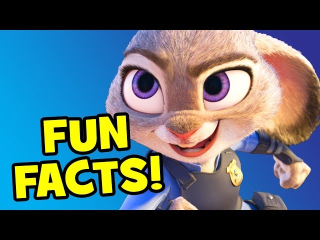 Disney's ZOOTOPIA - 25 Fun Facts (aka Zootropolis)