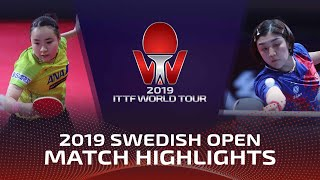 Chen Meng vs Mima Ito | Swedish Open 2019 (Final)