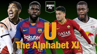 """Espn fc's gab marcotti and julien laurens disagree over including as roma's cengiz under in their """"u"""" alphabet xi teams. opts for a back three inclu..."""