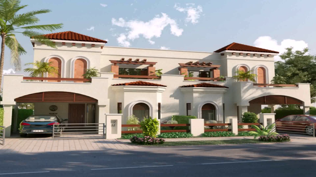 7 Marla House Design Pictures Front View - YouTube