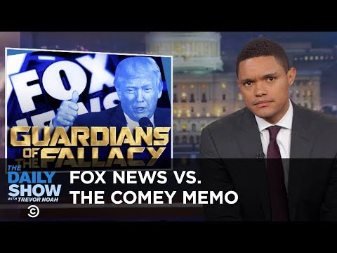 Thumbnail: A Special Prosecutor Steps In & Fox News Doesn't Get the Comey Memo: The Daily Show