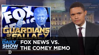 A Special Prosecutor Steps In & Fox News Doesn't Get the Comey Memo: The Daily Show thumbnail
