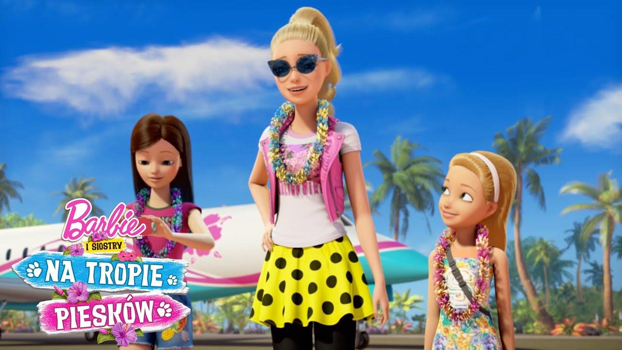 Witaj Na Wyspie Barbie I Siostry Na Tropie Pieskow Barbie Po Polsku Youtube