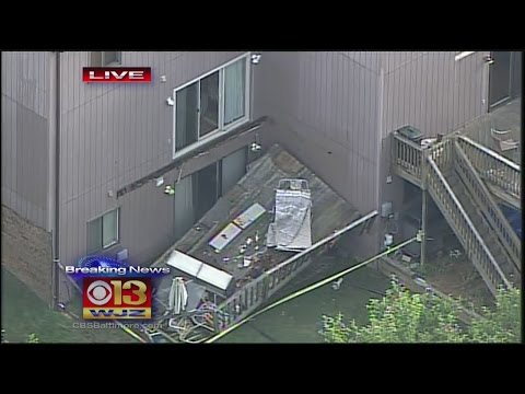 Deck Collapse In Pikesville