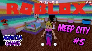 Decorating my house 🏡with sweets, cupcakes and candy - Roblox MeepCity #5