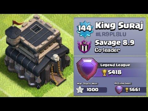 Th9 Legend vs Th11 | Clan-Savage 8.9 | Kingsuraj