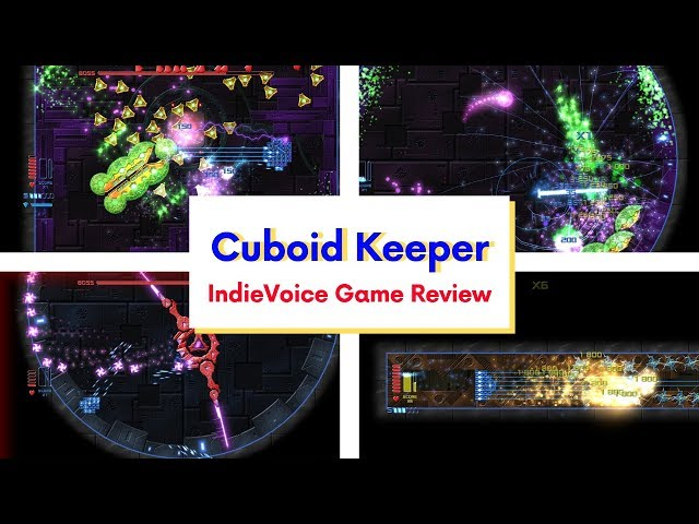 Indie Game Review: Cuboid Keeper - NON SHALL PASS!