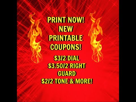 image relating to Dial Printable Coupon named Ought to PRINT Clean PRINTABLE Coupon codes $3/2 DIAL Extra!