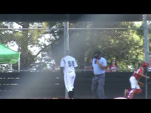 Cody Garcia Stealing 3rd base