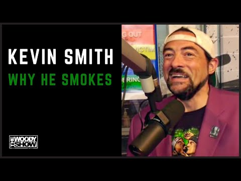 The Woody Show - Kevin Smith On Why He Smokes and Smoking with Seth Rogen