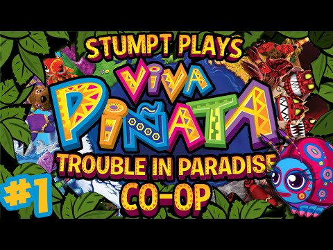 Viva Pinata: Trouble in Paradise - #1 - Welcome Back (Rare Replay Co-op Gameplay)