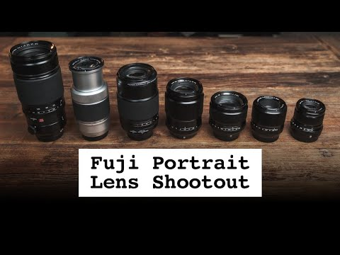 Which Fuji lens is best for portraits? In-depth comparison of 7 lenses