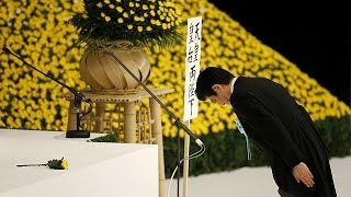 """Japan emperor expresses """"deep remorse"""" at WWII commemorations"""