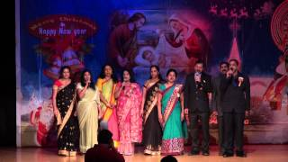 Kairali of Baltimore Christmas and New Years 2015- Indian National Anthem