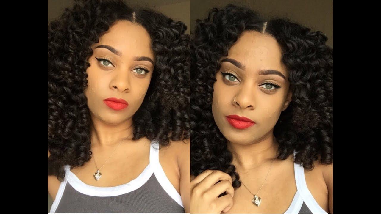Heatless Wand Curls Flexi Rod Set Mercys Hair Extensions Youtube