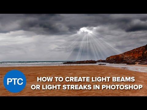 Photoshop: Cách tạo ánh sáng chùm