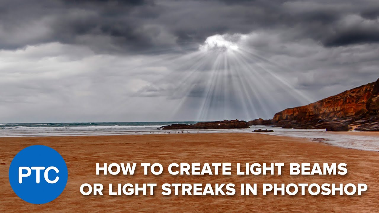 How To Create Light Beams (Light Streaks) in Photoshop
