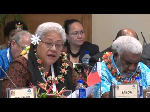 Leaders' response by the Deputy Prime Minister of Samoa