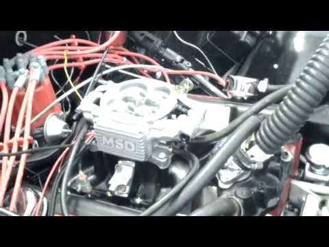Msd atomic efi install (cj7)  (video 2)