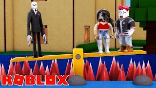 SLENDERMAN SETS US A SECRET TRAP! (Roblox)