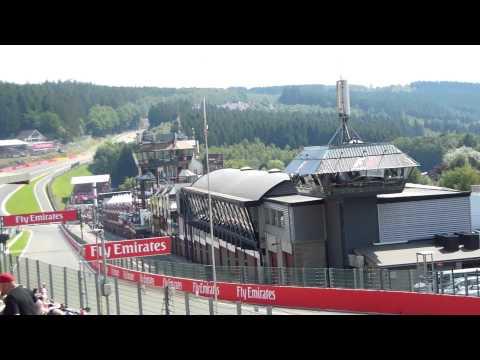 Start F1 Spa-Francorchamps 2015 (Silver-Tribune 1.)