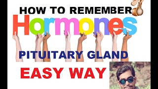 TRICKS TO REMEMBER HORMONES OF PITUITARY GLAND