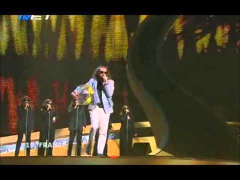 Sébastien Tellier - Divine (Eurovision 2008 - France) Broadcasting by ERT
