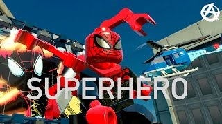 Marvel Tribute Superhero song by Tim Mcmorris (lego tribute)