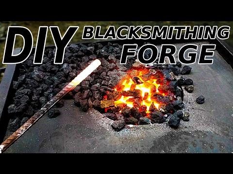 DIY Blacksmithing Forge