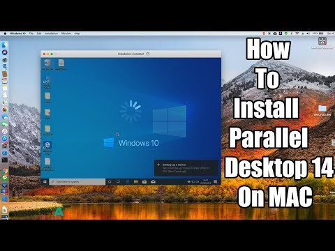 How To Install Parallel Desktop 14 On MAC