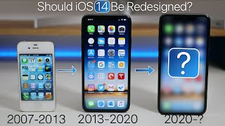 iOS 14 - Should iOS Get a Redesign in 2020?