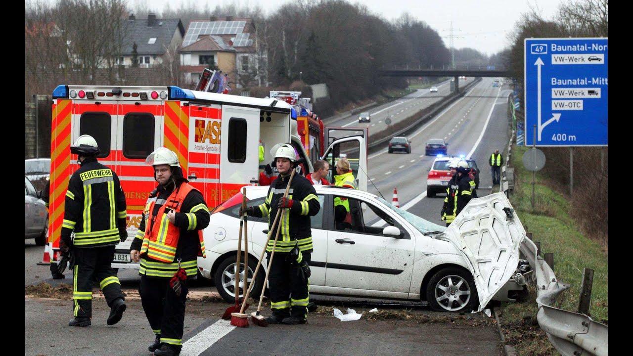 A49 Unfall