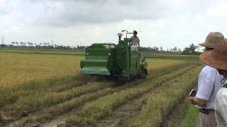 Harvester Model 4LZ 4 0ZB Working Video