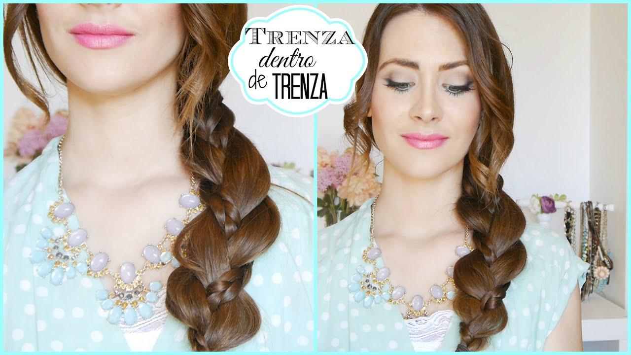 Peinado Fácil y Rápido con Trenza! Peinado para cada día! Easy braid Hairstyle! , YouTube