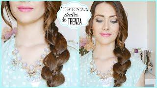 Peinado Fácil y Rápido con Trenza! Peinado para cada día! Easy braid Hairstyle!